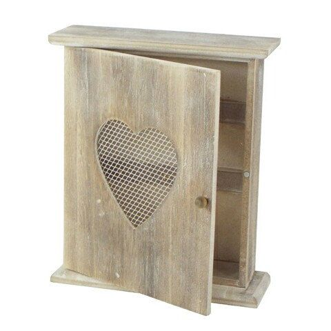 NEW in our Shop - Vintage Shabby Chic Wooden Key box