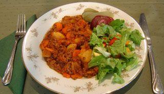 Recette Boeuf aux légumes (mijoteuse)