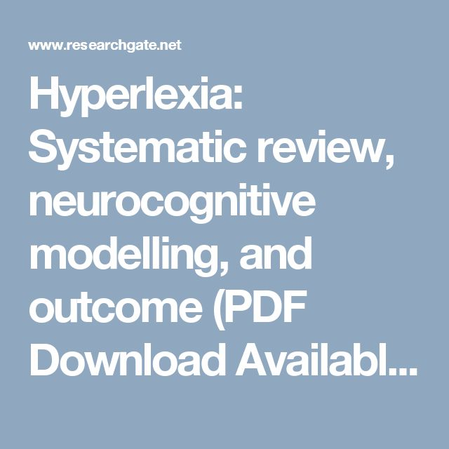 hyperlexia Hyperlexia iii is a less frequently recognized form of hyperlexia it is not an autistic spectrum disorder (asd), even though there are some autistic-like traits and behaviors that gradually fade as the child gets older.