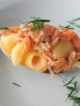 Ricetta Pasta al salmone | Novità Culinarie