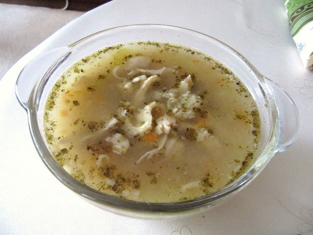 Tripe Soup Or Flaki Or Flaczki Is A Traditional Polish/Slavic Soup: Polish Tripe Soup