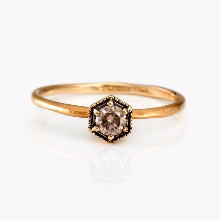 Unusual Engagement Rings | unique engagement rings and wedding bands by Satomi Kawakita vintage ...