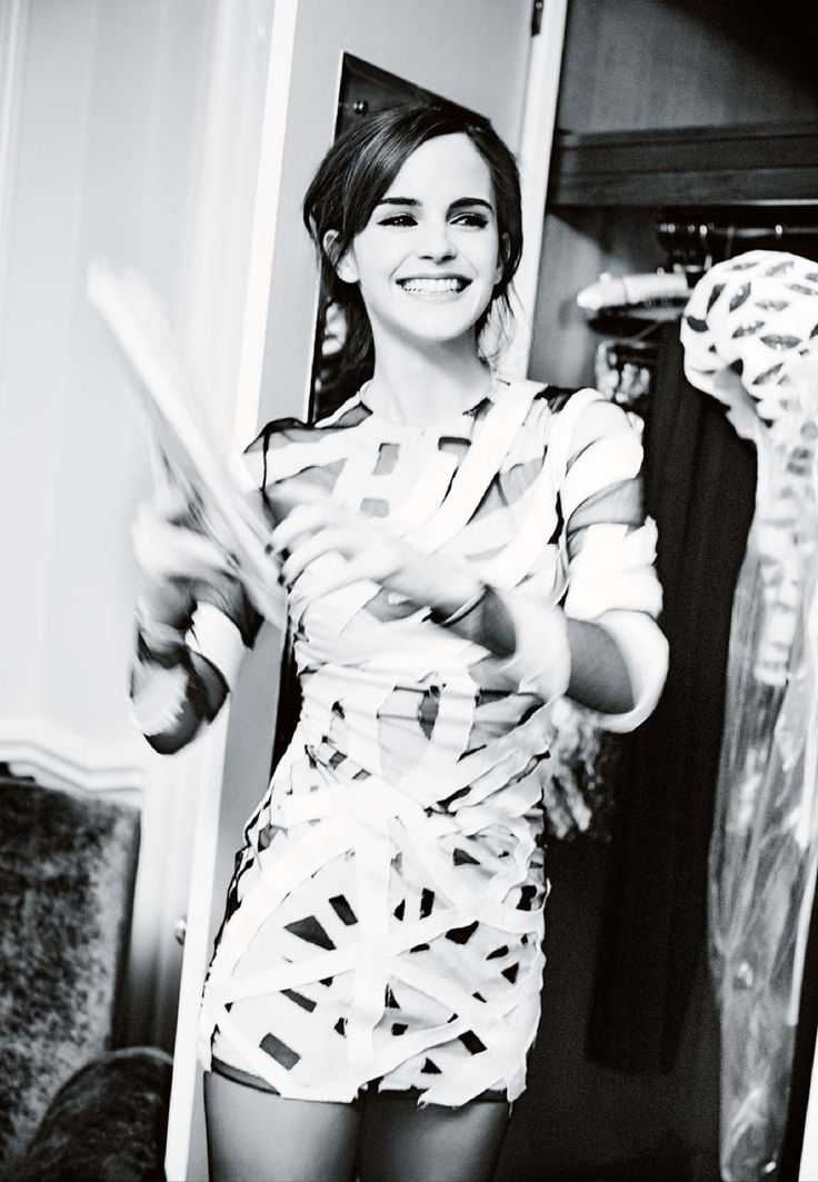 Emma Watson by Ellen Von Unwerth for the Sunday Times
