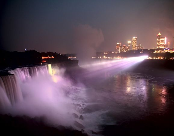 Niagara River, I love to go there: Ontario Canada, Beautiful Waterfalls, Waterfalls Ii, Falls 8211, Beautiful Places, Niagara Falls Ontario, Bushes Falls, New York, Niagara Falls At Night Jpg