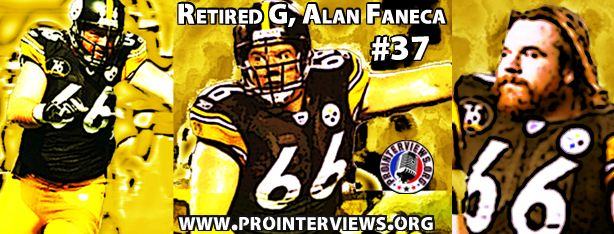 Retired Pro Bowl, All-Pro G, Alan Faneca Interview
