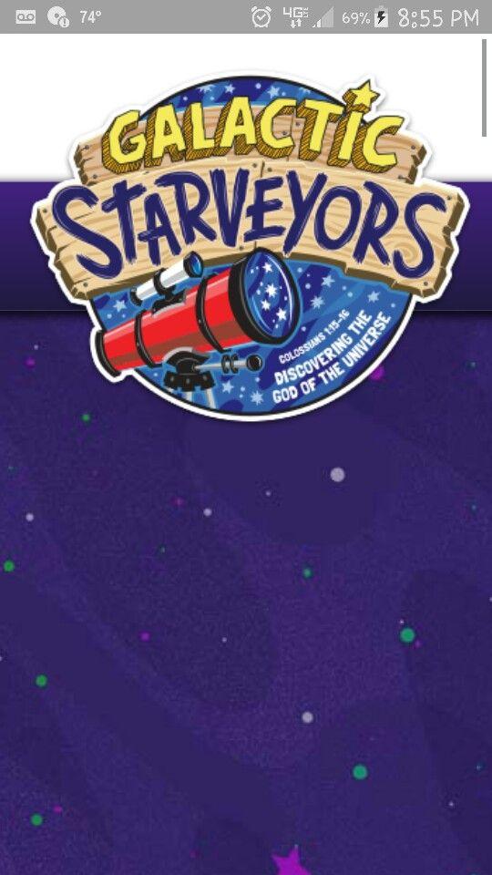 Vbs  Galactic Starveyors Crafts