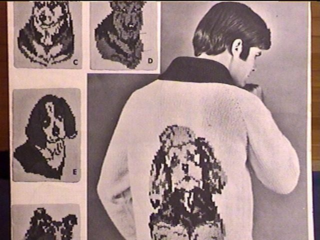 Sweater knitting patterns, Beagles and Poodles on Pinterest
