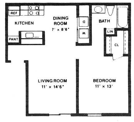 22 x 22 apartment floor plans Google Search Floor