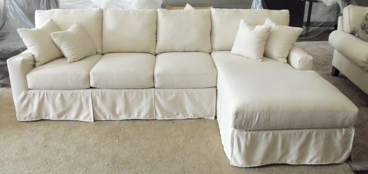 Slipcovers for Sectionals with Chaise