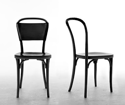 Stockholm furniture: Gemla designed by Jonas Bohlin and Front  Mix of leather and timber