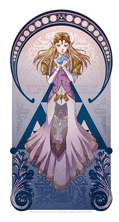 Legend Of Zelda: Art Nouveau