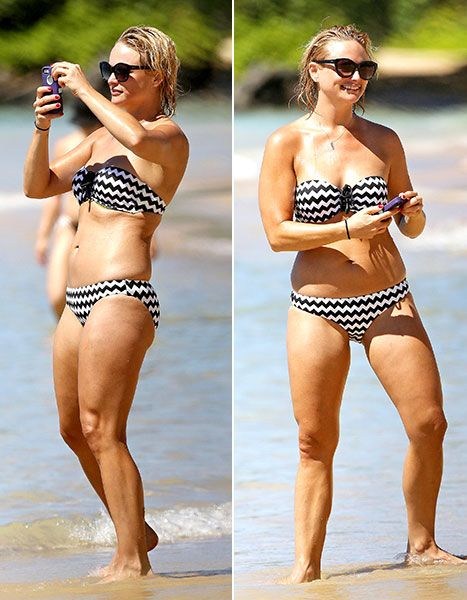 Miranda Lambert sizzles in a bikini while enjoying a day at the beach in Hawaii