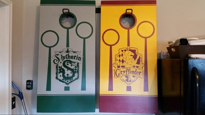 Harry Potter Quidditch  Cornhole Boards