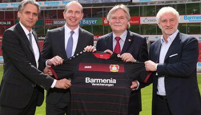 camisetas de futbol online 2018: Camiseta Bayer 04 Leverkusen 2016-2017