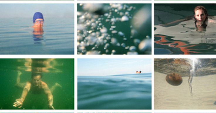 "Signitierter Farbausdruck ""Happy waters"" - Happy Waters"