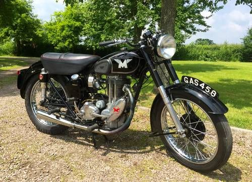 Matchless G80 Registered 1947 500cc Very Attractive  For Sale