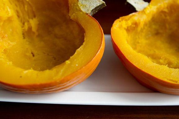 How To Roast A Sugar Pumpkin & Make Fresh Pumpkin Purée – A Step by step Photo Tutorial from Oh She Glows