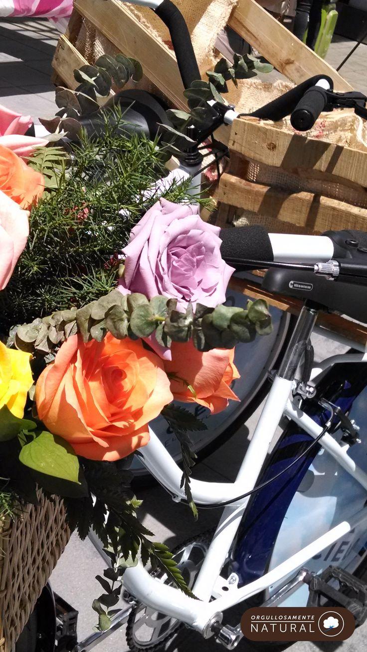 Flores e inspiración #OrgullosamenteNatural en Colombiamoda 2014
