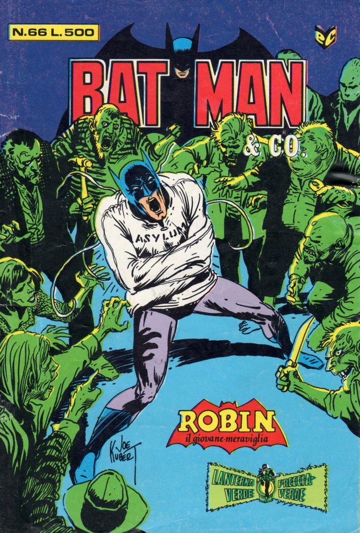 "mirrormaelstrom: "" Batman & Co. - Joe Kubert """