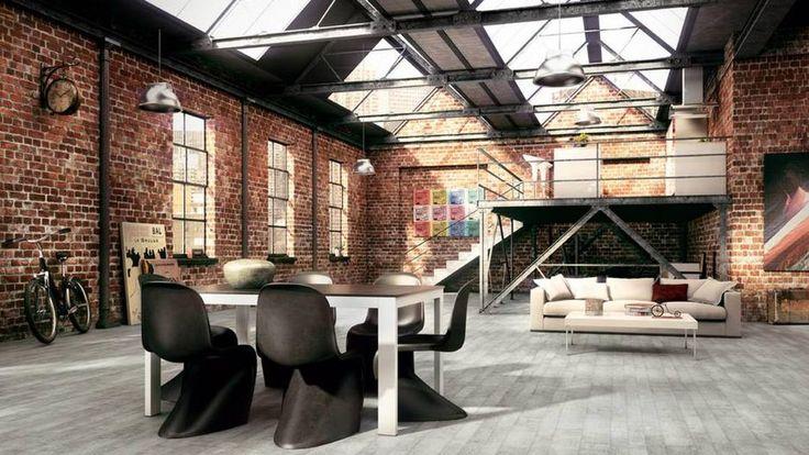 Loft Stile Abitare Idee Progetto Loft magazzino, Casa