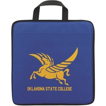 Add this promotional stadium cushion from ePromos to your promotional item giveaway inventory. Add your logo to this custom stadium cushion