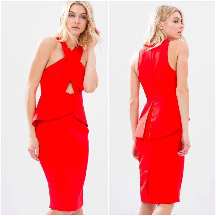 NEW Cameo Collective - What You Know Dress - Red - size L - for sale: $99.95 #bnkr #cameocollective #cameo #whatyouknowdress #red #cocktail #ausfashion #ausfashionlabel #ausfashionallabels #fashionbunker #forsale #ebay #forsaleonebay #ebaysale #buynow #brandnew #withtags #BNWT