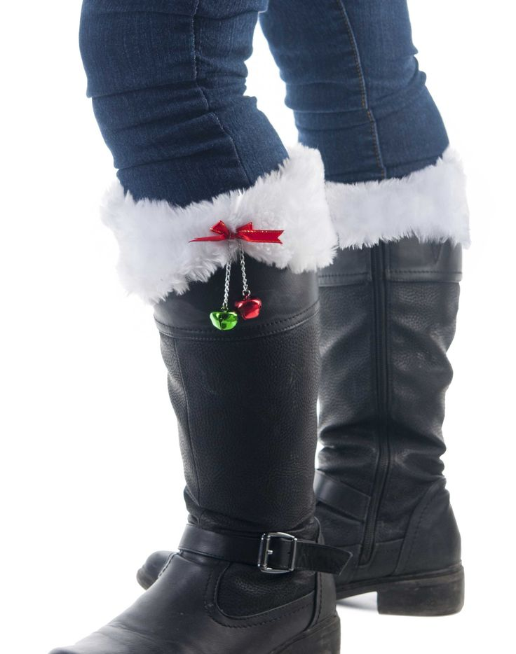 Jingle boot toppers