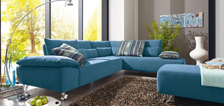 Sofa blau Musterring