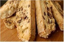 Chocolate Almond Biscotti Recipe - Joyofbaking.com *Tested Recipe*