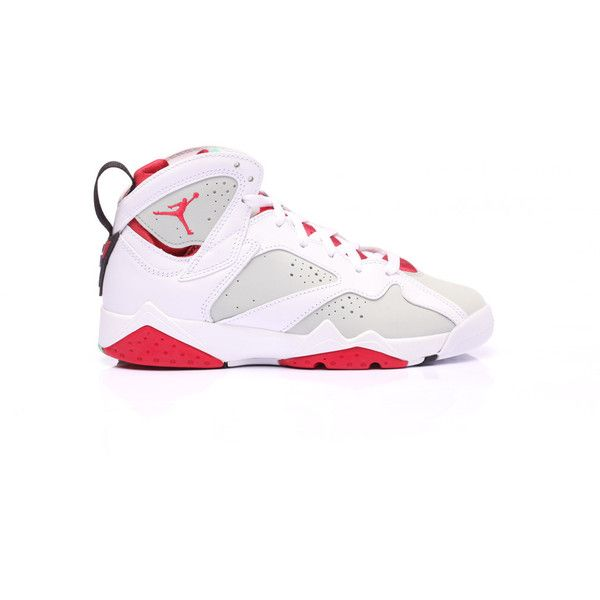 Air Jordan 7 Hare Kids ❤ liked on Polyvore featuring shoes, jordans, s h o  e s and