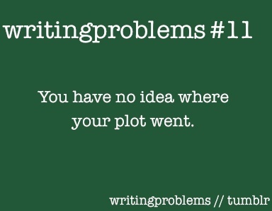 Writing Problem #11 You have no idea where your plot went. #WritingProblems
