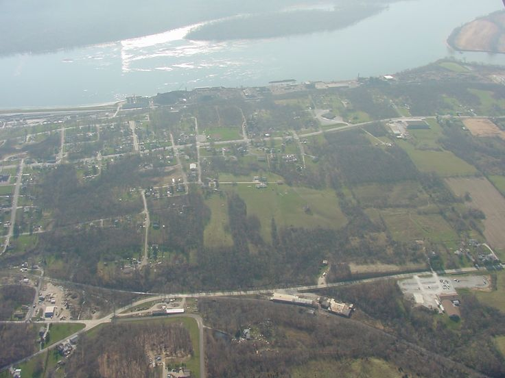 Aerial sectional view of keokukia city photo city iowa