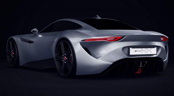 Jaguar XK Coupe concept  , - ,   The impressive J...