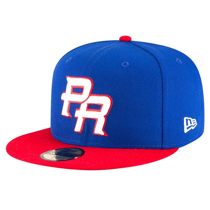 Puerto Rico Baseball New Era 2017 World Baseball Classic 59FIFTY Fitted Hat - Royal/Red - $30.39
