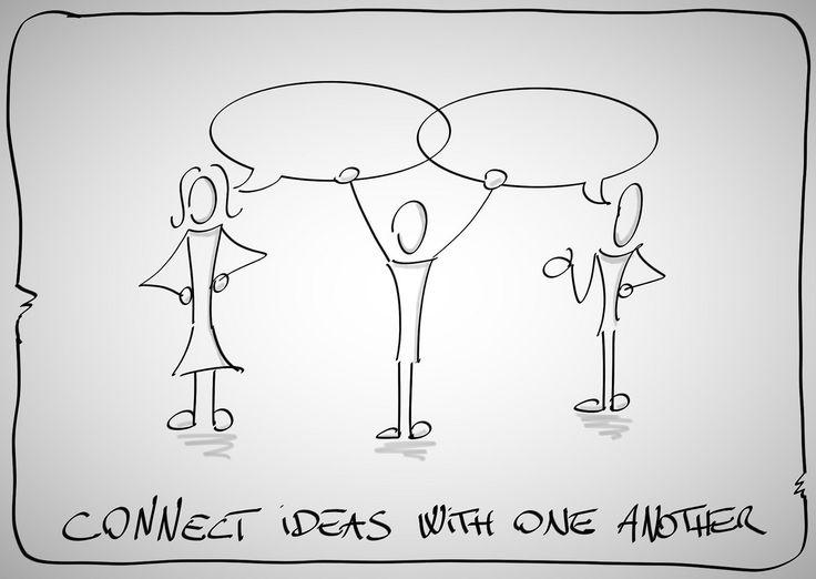 connect ideas   by Luigi Mengato
