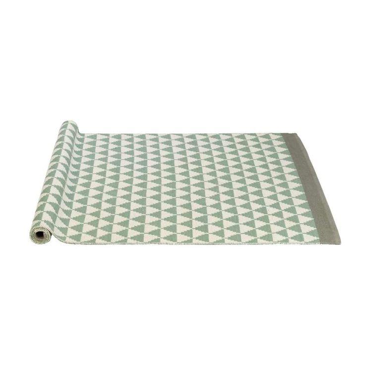 Vloerkleed Malmo - groen - 140x200 cm | Leen Bakker