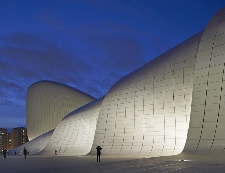 Image 22 Of 52 From Gallery Of Heydar Aliyev Center / Zaha Hadid Architects.  Photograph By Hufton+Crow Amazing Ideas