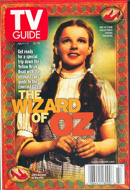 Wizard of Oz~the year 2000 had a series of Oz TV Guide covers. This was before they redesigned the magazine. I liked the little format better!