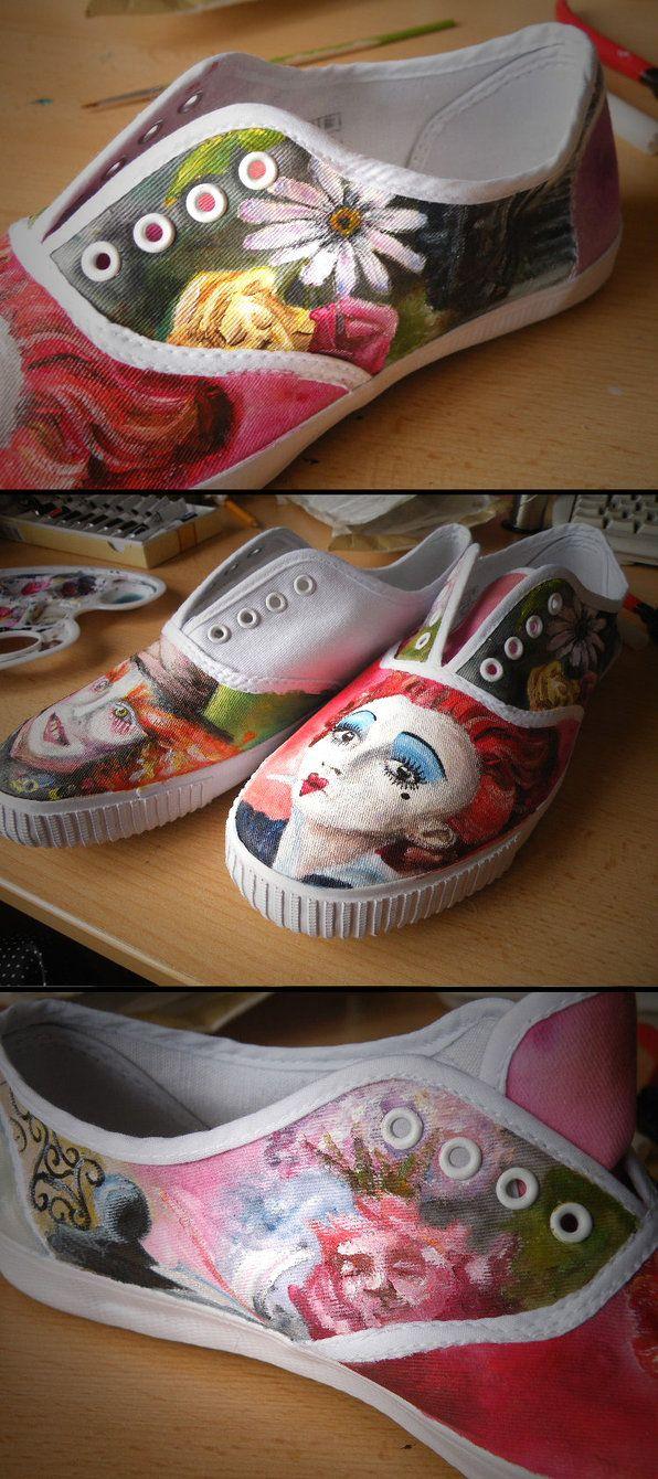 Tim Burton Shoes so far by StaticSkies