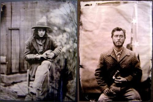 Jack White and Jude Law in Cold Mountain. #fotographiaFav Movie, Film, Jude Law, Fav Tv Movie, Law Tintype, Mountain Anthony, Jack White, Cold Mountain, Jack O'Connel