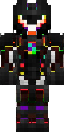 3D Rainbow Robot | Nova Skin