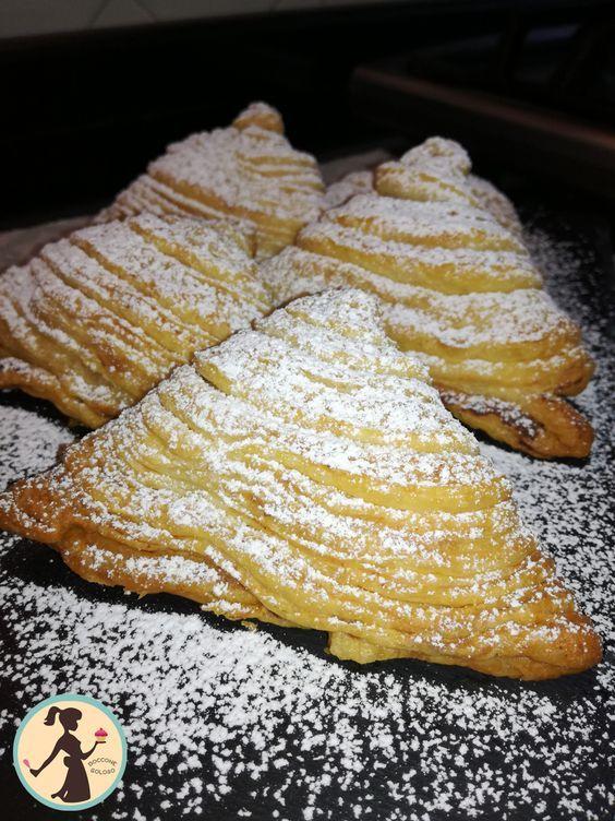 con le Sfogliatelle ricce velocissime non aspettatevi la sfogliatella della pasticceria ma avrete comunque un buonissimo dolcino.