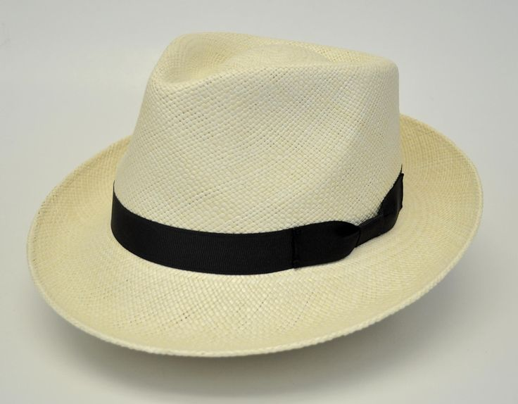 Stetson Retro Genuine Panama Straw Fedora Hat
