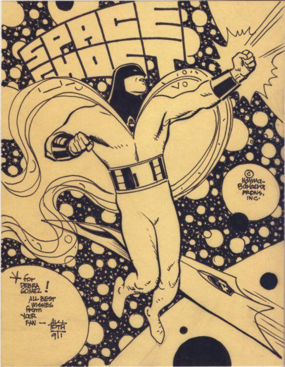Alex Toth  - Space Ghost Comic Art