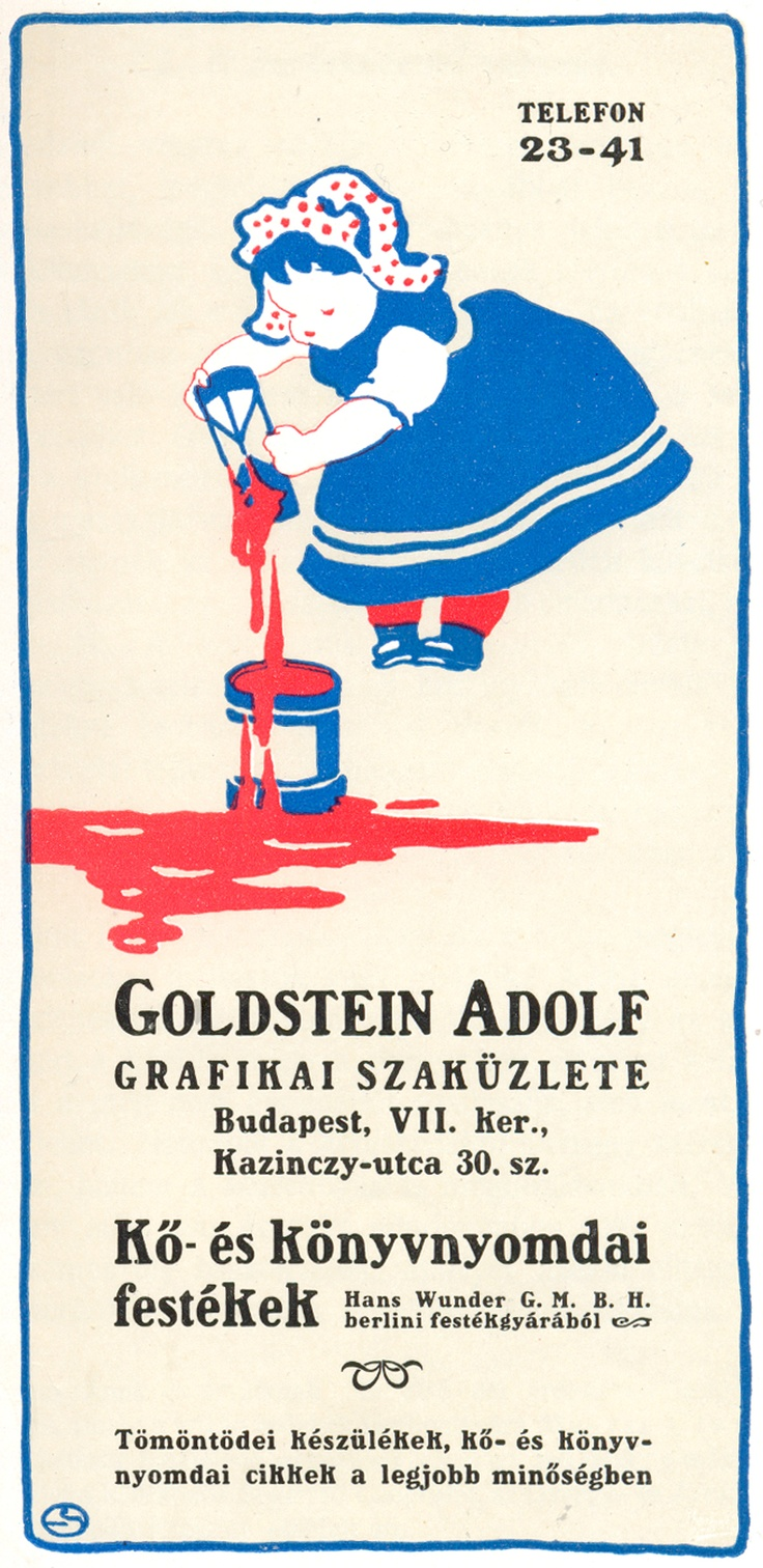 old hungarian ad, 1907