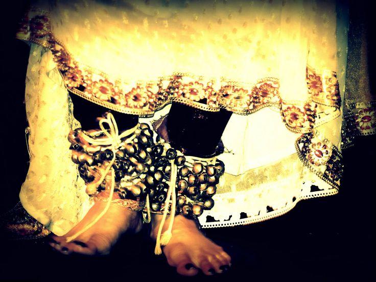 Beautiful Ghungroo feet
