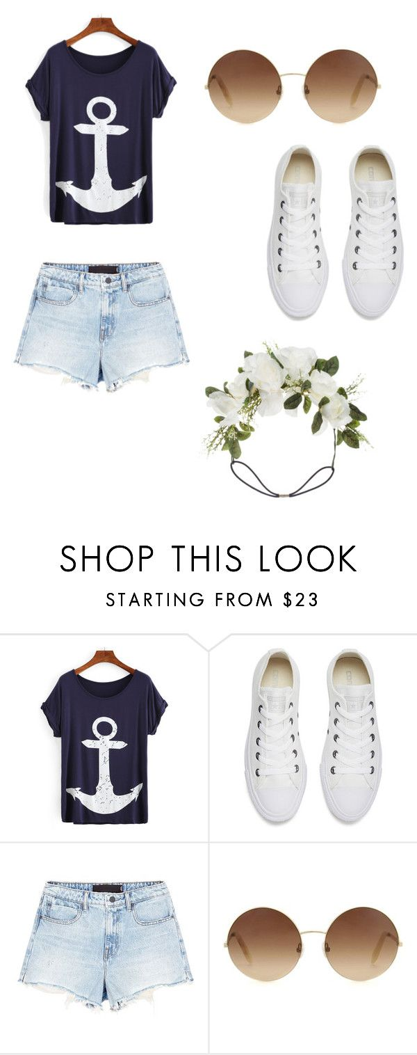 """""""cruise vacation"""" by kavarossy on Polyvore featuring mode, Converse, Alexander Wang, Victoria Beckham et Orelia"""