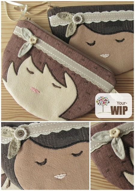 Adorable Sweet Child Zipper Pouch Sewing Pattern By the Sewing Loft