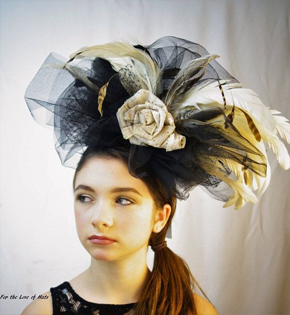 KENTUCKY DERBY/PREAKNESS/BELMONT!!!  !!ITS THAT TIME OF YEAR!!  !!MAKE A STATEMENT AND STAND OUT IN THE CROWD!   WINNER OF BEST HAT DESIGN AT KEENELAND RACECOURSE AT KENTUCKY DERBY 2013!!   Background:  For the Love of Hats are custom designed by yours truly. I started making hats/fascinators after attending the Kentucky Derby a few years ago wearing one of my own designs. With so many compliments and requests to make hats for people in upcoming events, I decided to take it to ...