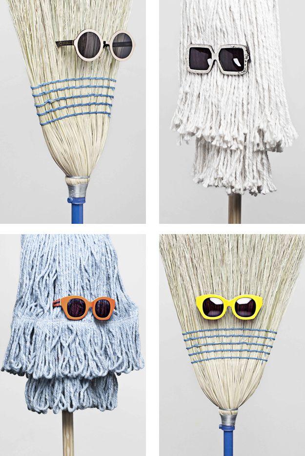 Karen Walker collection: if you don't have an ArtAkimbo nose eyeglass stand www.artakimbo.com